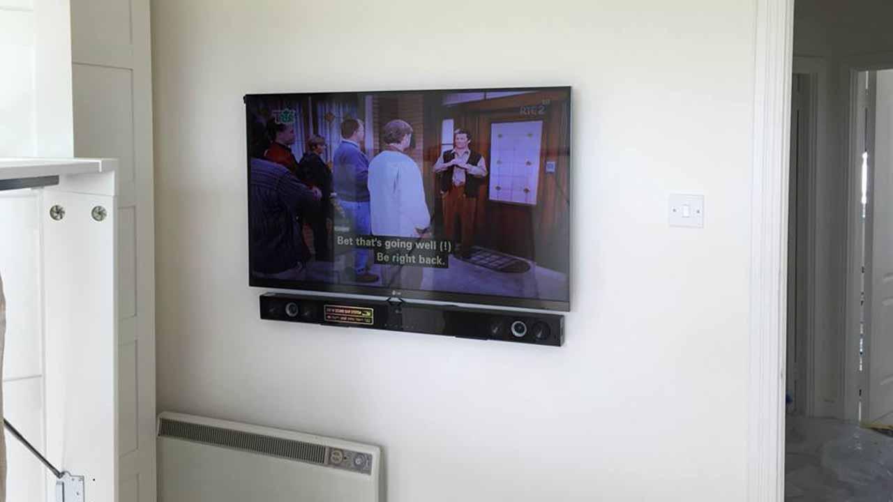 TV instalation1